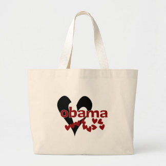 Heart Obama Tote Bags