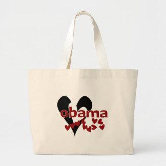 Heart Obama Jumbo Tote Bag