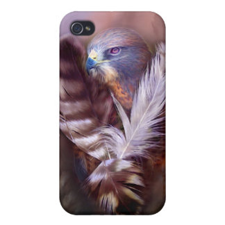 Heart Of A Hawk Art Case for iPhone 4