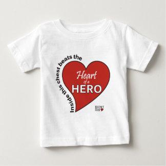 Heart of a Hero Baby T-Shirt