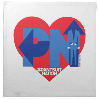 Heart of a Pantsuit Nation Napkin
