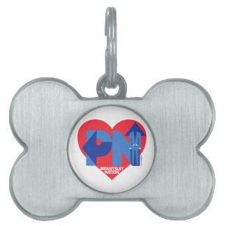 Heart of a Pantsuit Nation Pet ID Tag
