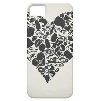 Heart of a part of a body iPhone 5 case