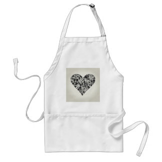Heart of a part of a body standard apron