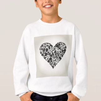 Heart of a part of a body sweatshirt