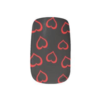 Heart Of A Queen Minx Nail Art
