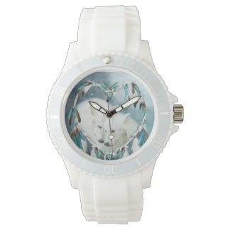 Heart Of A Wolf Wearable Art Watch
