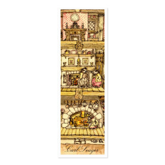 Heart of Acorn Cottage call cards Pack Of Skinny Business Cards