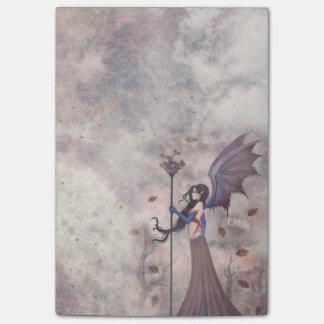 Heart of Autumn Fairy Vampire Gothic Art Post-it Notes
