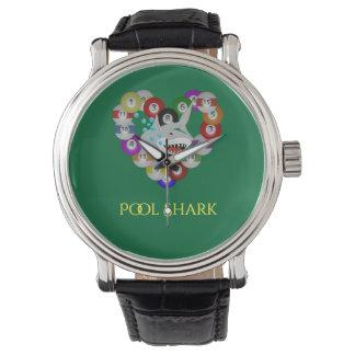 Heart of Billiard Balls Pool Shark Watch