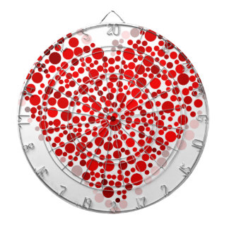 Heart Of Dots Dartboard