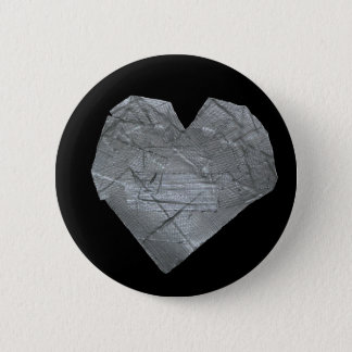 Heart of Duct Tape 6 Cm Round Badge
