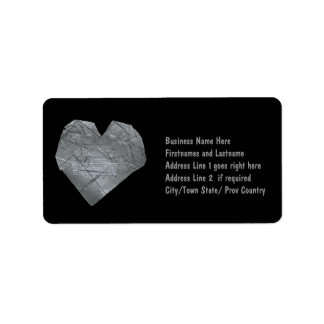 Heart of Duct Tape Address Label