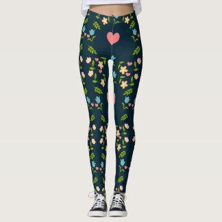 heart of enamored leggings