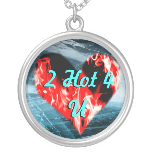 Heart of Fire 2 Hot 4 U Necklace