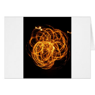heart of fire greeting card