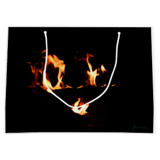 heart of fire large gift bag