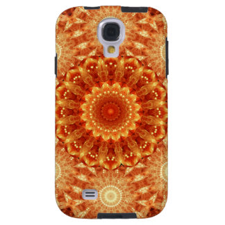 Heart of Fire Mandala Galaxy S4 Case