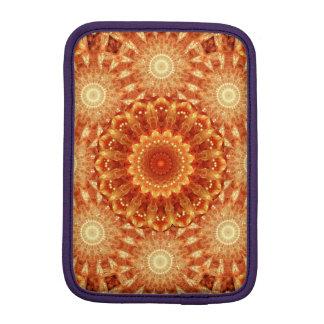 Heart of Fire Mandala iPad Mini Sleeve