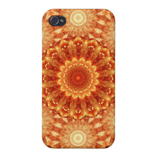 Heart of Fire Mandala iPhone 4/4S Covers