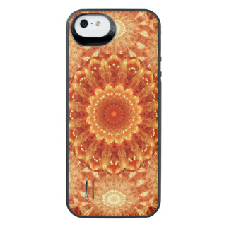 Heart of Fire Mandala iPhone SE/5/5s Battery Case