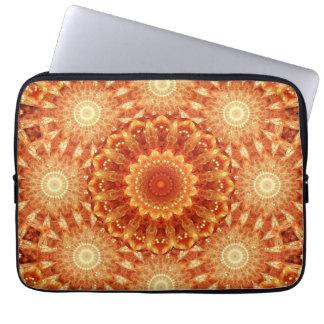 Heart of Fire Mandala Laptop Sleeve