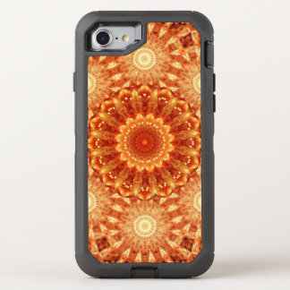 Heart of Fire Mandala OtterBox Defender iPhone 7 Case