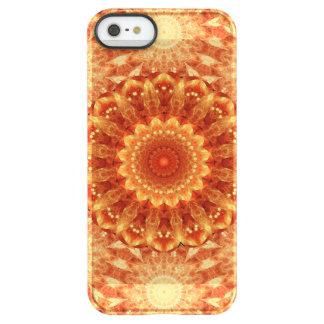 Heart of Fire Mandala Permafrost® iPhone SE/5/5s Case