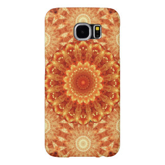 Heart of Fire Mandala Samsung Galaxy S6 Cases