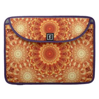 Heart of Fire Mandala Sleeves For MacBooks