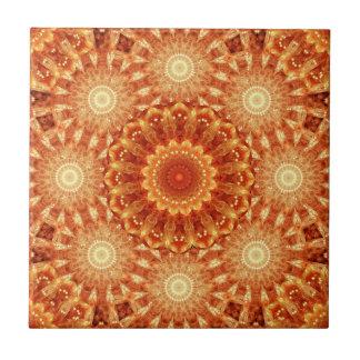 Heart of Fire Mandala Tile