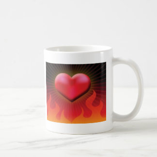 heart of fire coffee mugs
