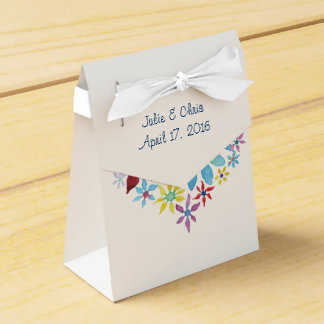 Heart of Flowers Party Favour Boxes