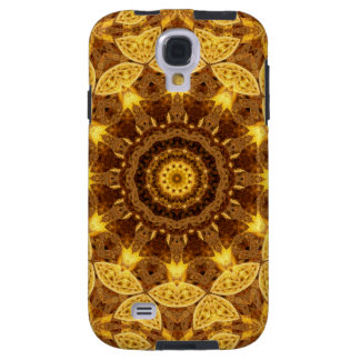 Heart of Gold Mandala Galaxy S4 Case