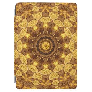 Heart of Gold Mandala iPad Air Cover