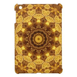 Heart of Gold Mandala iPad Mini Case