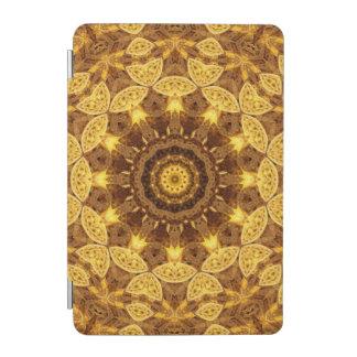 Heart of Gold Mandala iPad Mini Cover