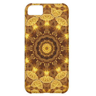 Heart of Gold Mandala iPhone 5C Case