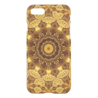 Heart of Gold Mandala iPhone 7 Case