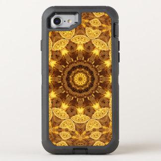 Heart of Gold Mandala OtterBox Defender iPhone 7 Case