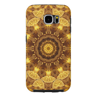 Heart of Gold Mandala Samsung Galaxy S6 Cases