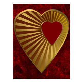 Heart Of Gold Postcard