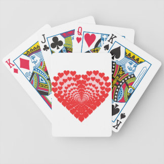Heart of Hearts Bicycle Playing Cards