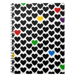 Heart of Hearts Spiral Notebooks