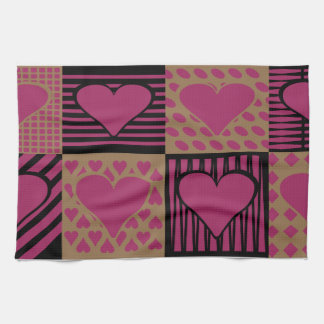 Heart Of Hearts Kitchen Towels
