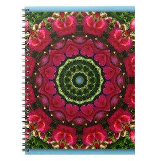 Heart of Heaven 01, Nature Mandala Notebooks
