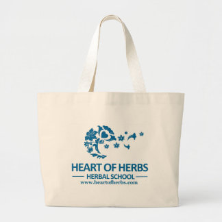 Heart of Herbs Herbal School Jumbo Tote