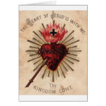 Heart of Jesus (small) Greeting Card