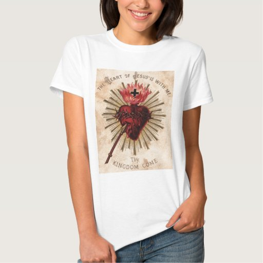 Heart of Jesus (small) Tee Shirt