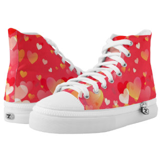 Heart of Love Printed Shoes